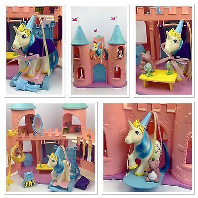⭐️ My Little Pony ⭐️ G1 Dream Castle Playset w/Majesty, Spike & Accessories!
