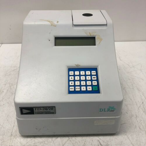 Turner Designs TD-20/20 Luminometer Tested and Working No Power Adapter