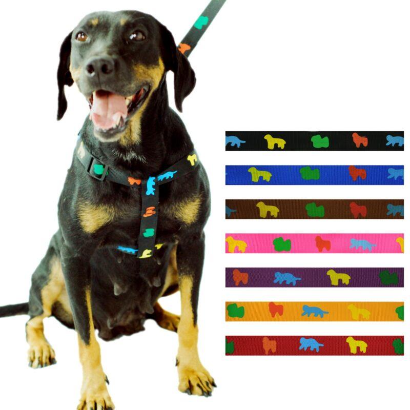 Wholesale Case 12 Set Pet Nylon Harness Adjustable Safe Control Restraint Dog