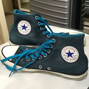 Blue Converse Size 9 women's size 7 mens Melbourne CBD Melbourne City Preview