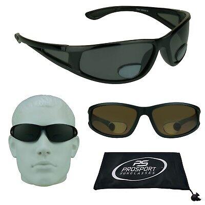 Angeln Polarisierend Bifokale Sonnenbrille Seite Schild Fenster Herren Lesen Mit
