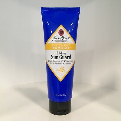 Sun Care Oil Free Sunblock - Jack Black Oil-Free Sun Guard SPF 45 Sunscreen EXP:05/22