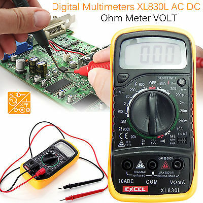 Digital Multimeter Ammeter Voltmeter AC DC Voltage Current Circuit Tester Buzzer