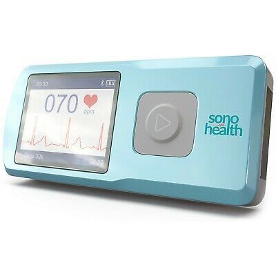 Ekgraph Portable Ecg Heart Rate Monitor Sonohealth - Kardia Mobile Alternative