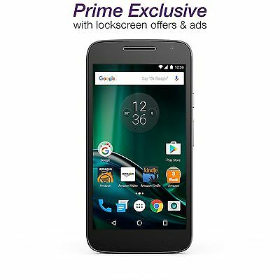 Moto G Play (4th gen.) - Black - 16 GB - Unlocked - with Lockscreen Offers & Ads