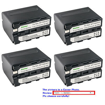 Kastar Replacement Battery for Sony NP-F960 F970 & CCD-TRV43 CCD-TRV45 CCD-TRV46 ()