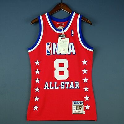 6a1f97c15 100% Authentic Kobe Bryant Mitchell Ness 2003 All Star Jersey Mens Size 36 S