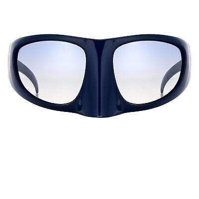 Bernhard Willhelm Sunglasses Mask Blue