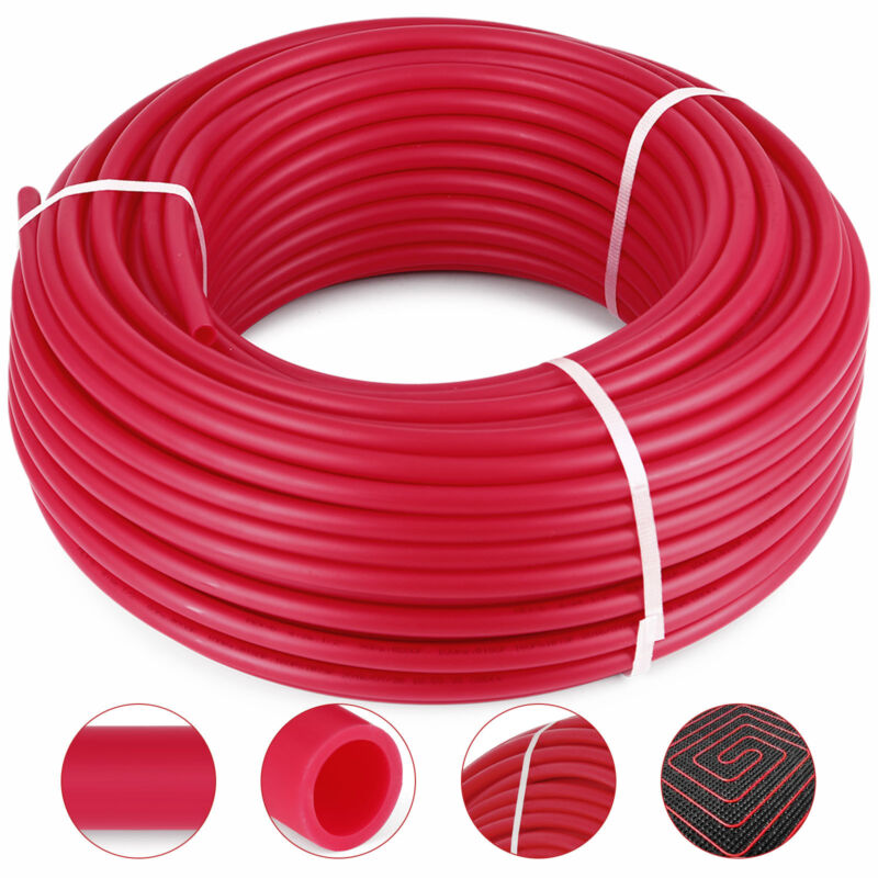 1/2in x 300ft PEX Tubing For Potable Water Combo Oxygen Barrier Pex-B Pipe