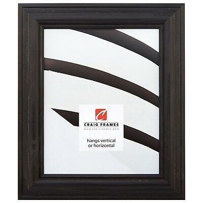 american classic weathered black wood picture frame