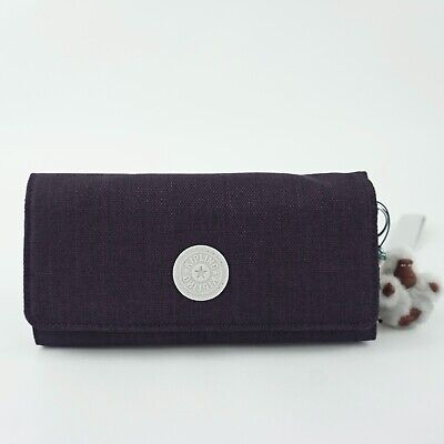 KIPLING RUBI Carryall Wallet Wristlet Misty Purple