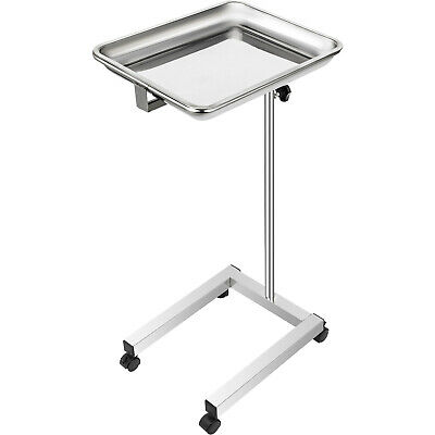 Vevor Mobile Mayo Stand Trolley Medical Salon Tattoo Equipment W Removable Tray