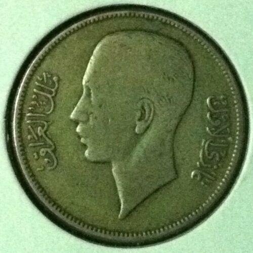 Iraq  50 Fils  Silver  KM 104  VF  1937