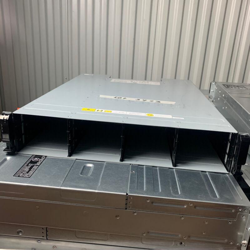 DELL Compellent XYRATEX HB-1235 DAS 15k Dual Controller PSU NO HD