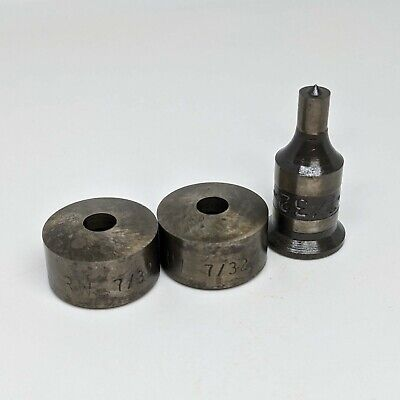 Whitney 732 .219 Punch Round Die Set - Ctl20 20 Old Stock Nos