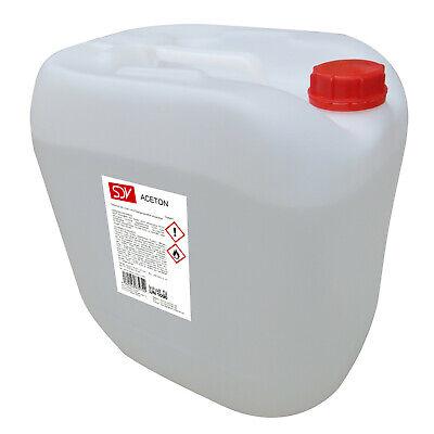 ACETON 5L rein 99,5 Verdünnung Reiniger Entfetter Lösungsmittel Azeton 5 Liter