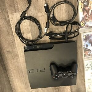 PS3 with 25 games