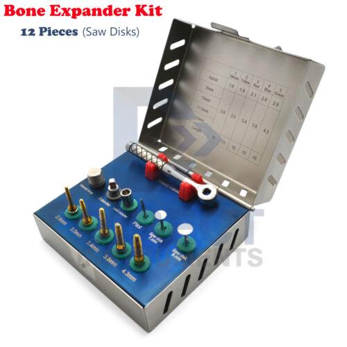 Surgical Bone Expander Kit Saw Disks Dental Implant Sinus Lifting Oral Surgery