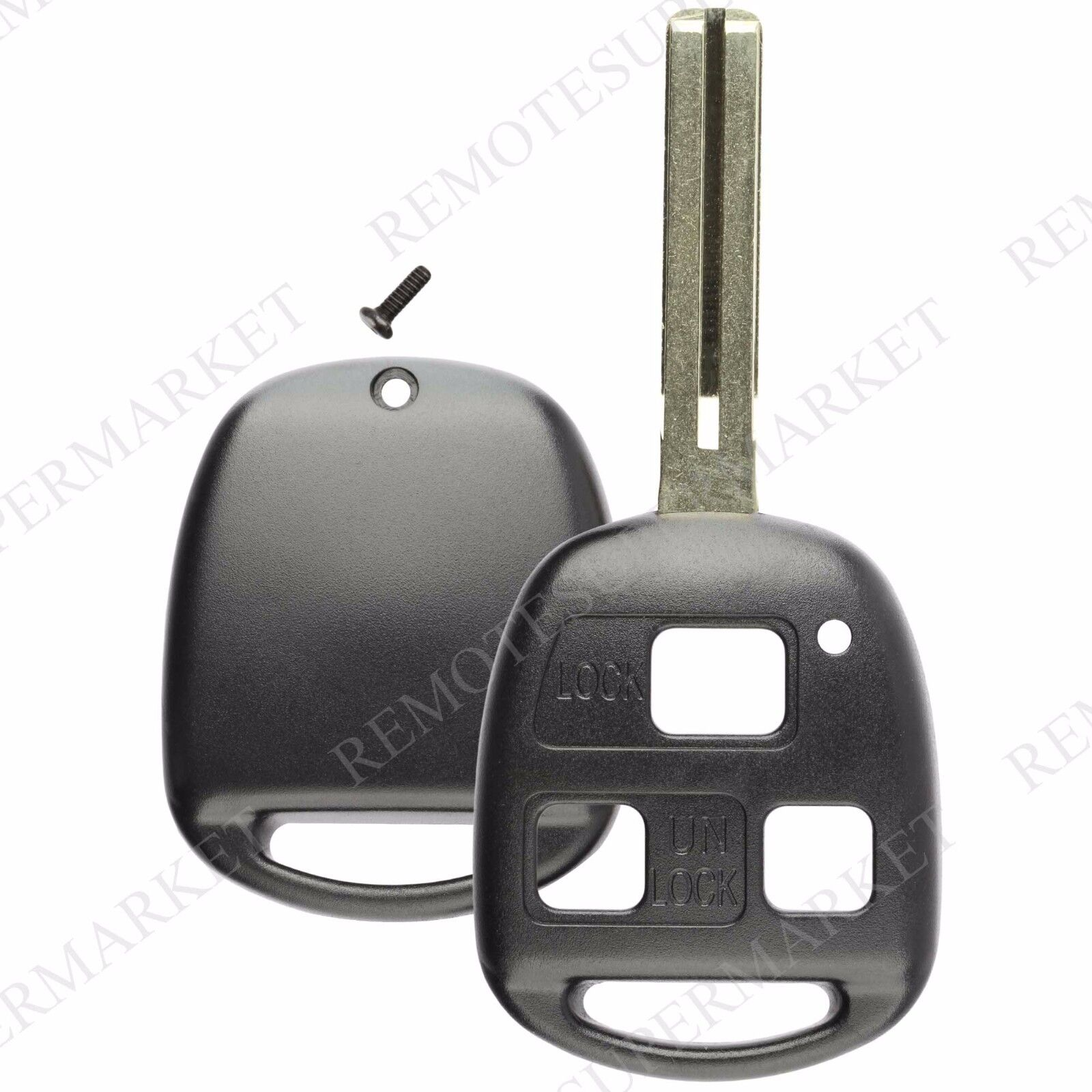 ... Replacement For Lexus GX470 LX470 Remote Car Keyless Entry Key Fob  Shell Case 2 Of 5 Replacement For Lexus GX470 LX470 Remote Car Keyless ...
