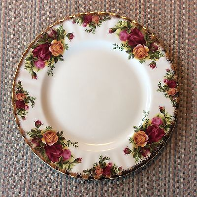 ''OLD COUNTRY ROSES''  BY ROYAL ALBERT -- SALAD PLATE -- 19 AVAILABLE --