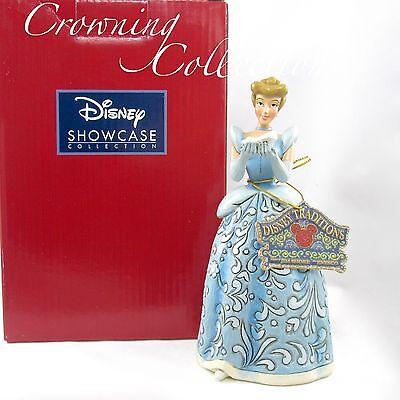 Jim Shore Cinderella Dreaming for a Prince Disney Traditions Princess & Slipper