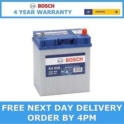 12V 40Ah S4018 Heavy Duty Bosch Car Van Battery Type 054 S4 018