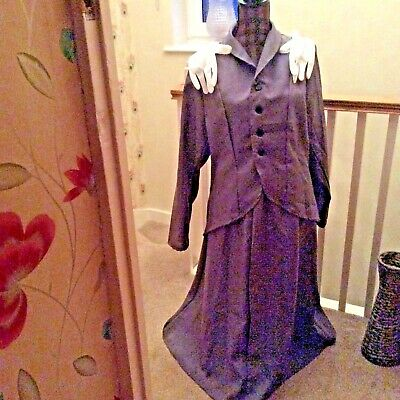 Adult Ladies MARY POPPINS Fancy Dress Costume WORLD BOOK DAY Size 12-14