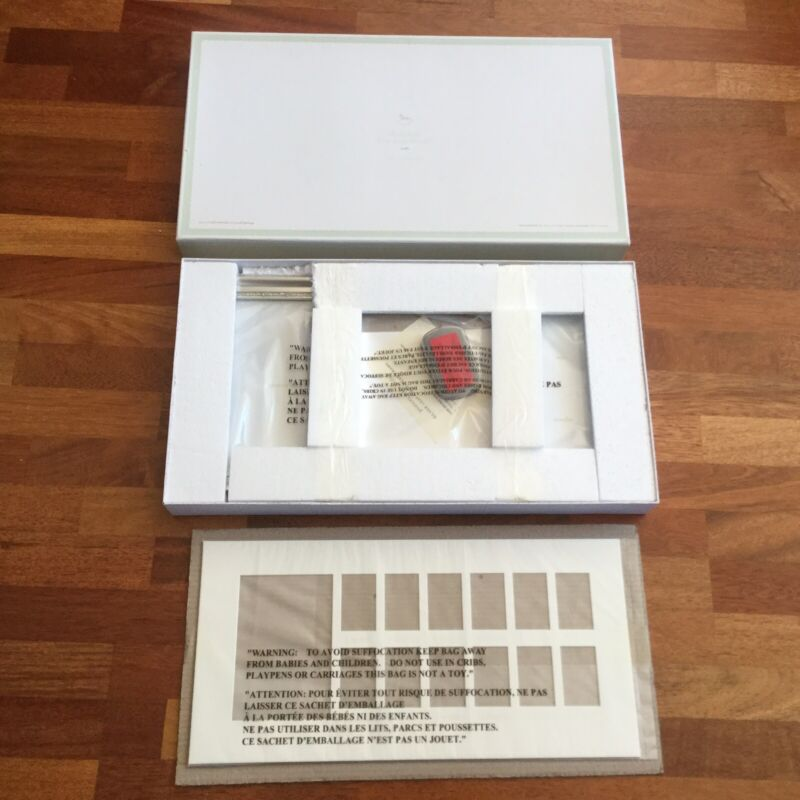 Pottery Barn Baby - Silver Leaf First Year Frame New In Box