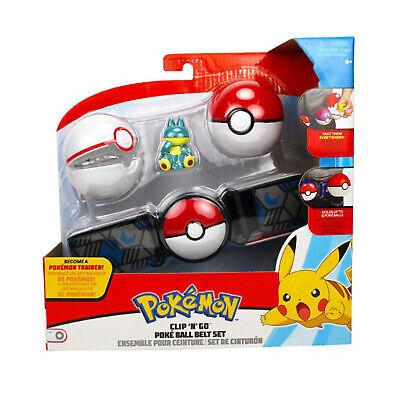 Wicket Cool Toys Pokemon Clip N Go Munchlax Poke Ball Belt Set NEW IN STOCK