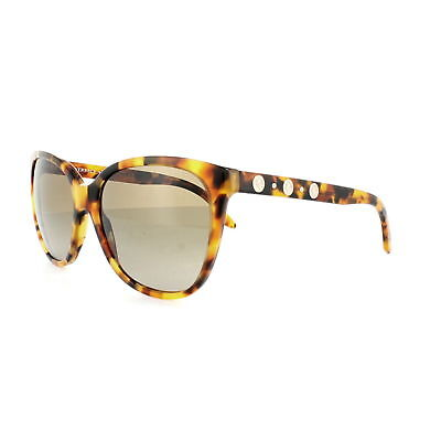 Versace Women Cat Eye Sunglasses VE4281A 511913 Havana Frame Brown Gradient Lens