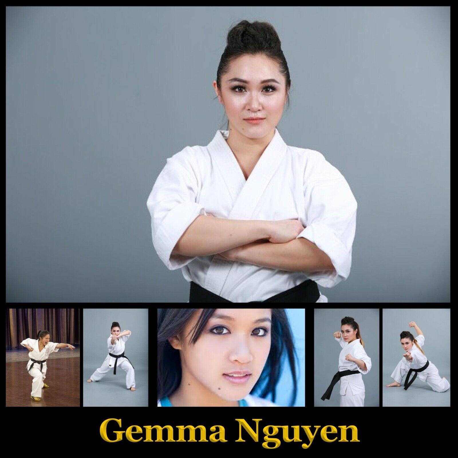как выглядит Gemma Nguyen