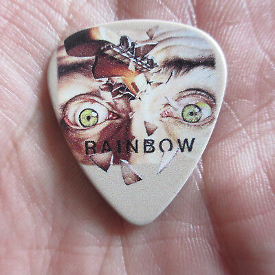 RAINBOW Collectors Guitar Pick; Straight Between the Eyes; Ritchie Blackmore