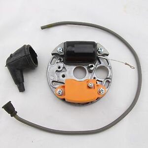 IGNITION COIL STARTER PLATE WITH WIRE PLUG FOR STIHL 070 090 CHAINSAW NEW