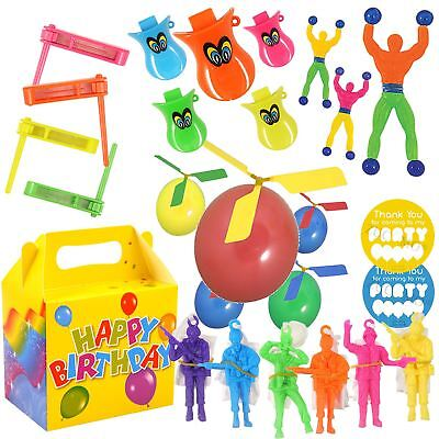 Party Bag Toys For Boys (Pre Filled Boys Birthday Party Box with Fillers Bag Toys For Kids Unisex )