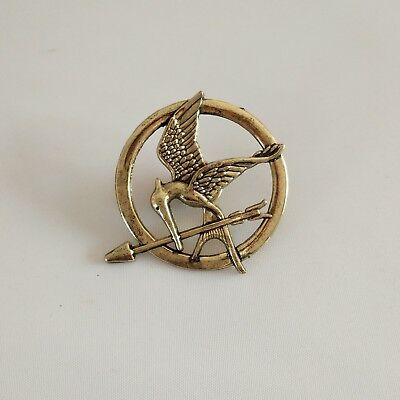 Hunger Games Katniss Everdeen Cosplay Costume Mockingjay Pin Brooch Badge Sale