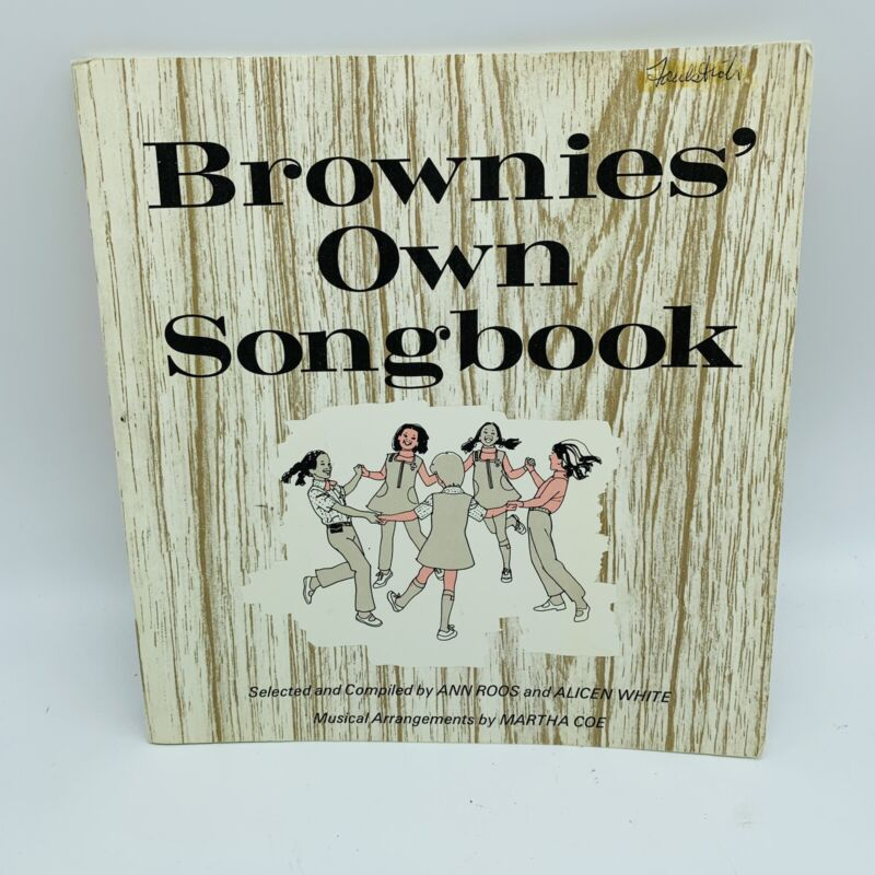Brownies' Own Songbook 1968 by Ann Roos & Alicen White Girl Scouts