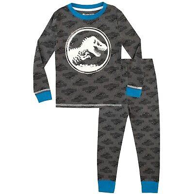 Pyjamas | Jurassic World PJs | Glow in the Dark Pyjama Set (Glow In The Dark Pyjama)