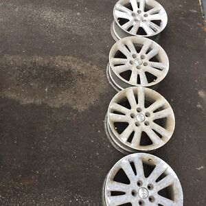 17incees rims. Toyota 5 bolt for sale