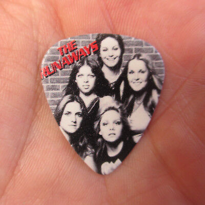 RUNAWAYS Collectors Guitar Pick; Killer Joan Jett Lita Ford All Ruff Girl Band