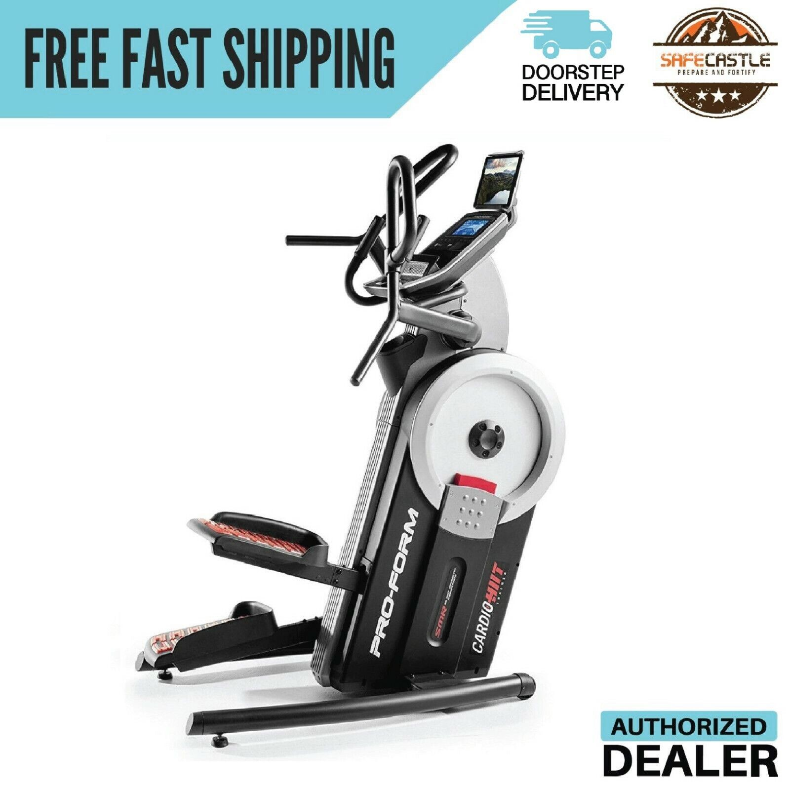 ProForm Cardio HIIT Elliptical Trainer, Exercise,PFEL09915,