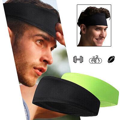 Hair Head Band Sweatband Headband Stretch Mens Wrap Elastic