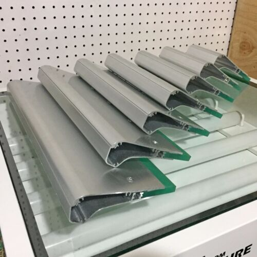"""New Ergonomic Aluminum Screen Printing Squeegee w/ 70 Durometer Blade - 12"""""""
