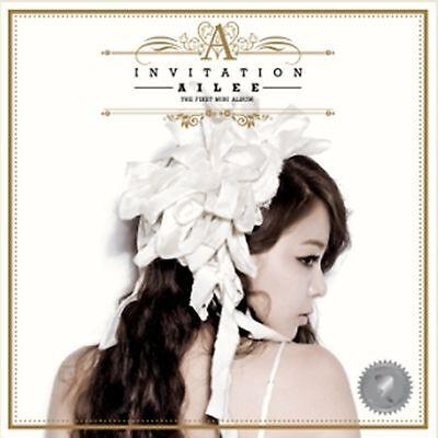 K-POP AILEE 1st Mini Album [Invitation] CD + Booklet Sealed Music CD