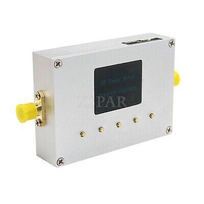 100khz-10ghz Rf Power Meter Settable Rf Power Attenuation Cnc Shell 0.96 Oled