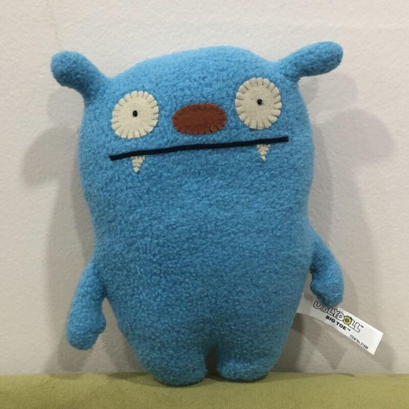 "2006 Ugly Dolls BIG TOE 8"" Blue Plush Toy #90317"