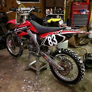 CR250 parts wanted !