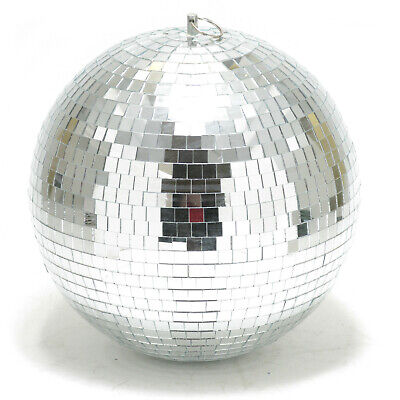 12 Inch Disco Ball (12-inch Mirror Disco Ball With Rotating)