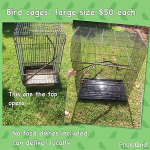 Large bird cages Finley Berrigan Area Preview