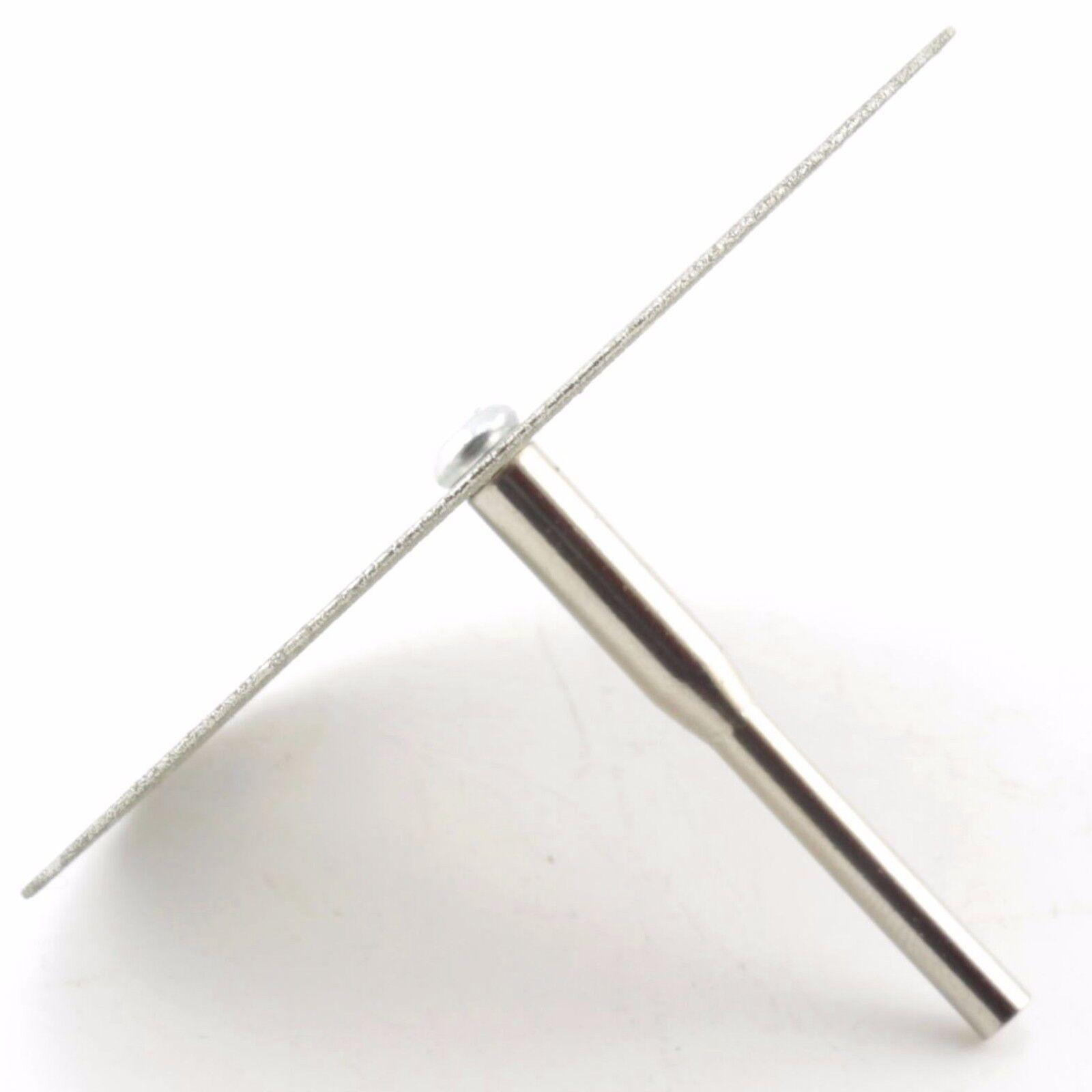"""как выглядит 10Pcs 50mm 2"""" Diamond Cutting Wheel Coated Rotary Blade Cut-off Disc for Dremel фото"""