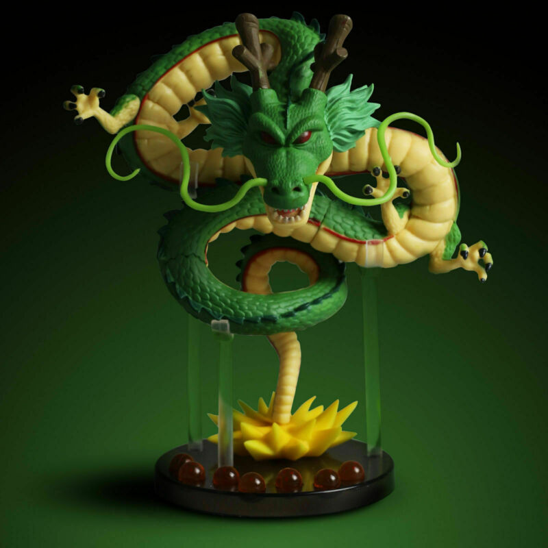 Dragon Ball Z Mega World collectible WCF Shenron Figure, 6-Inch